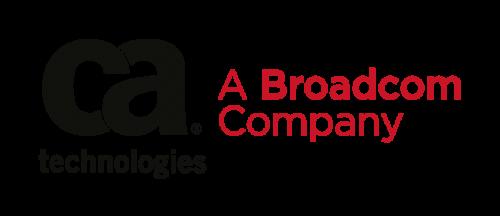 CA Technologies, a Broadcom Company Logo