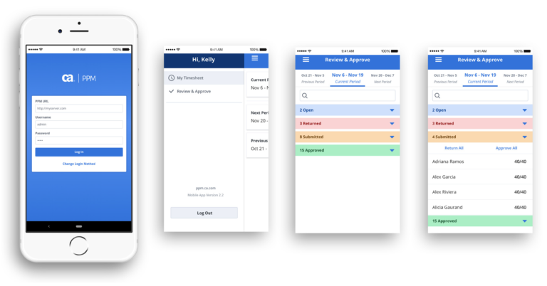 Clarity PPM: Fast time recording on your smartphone