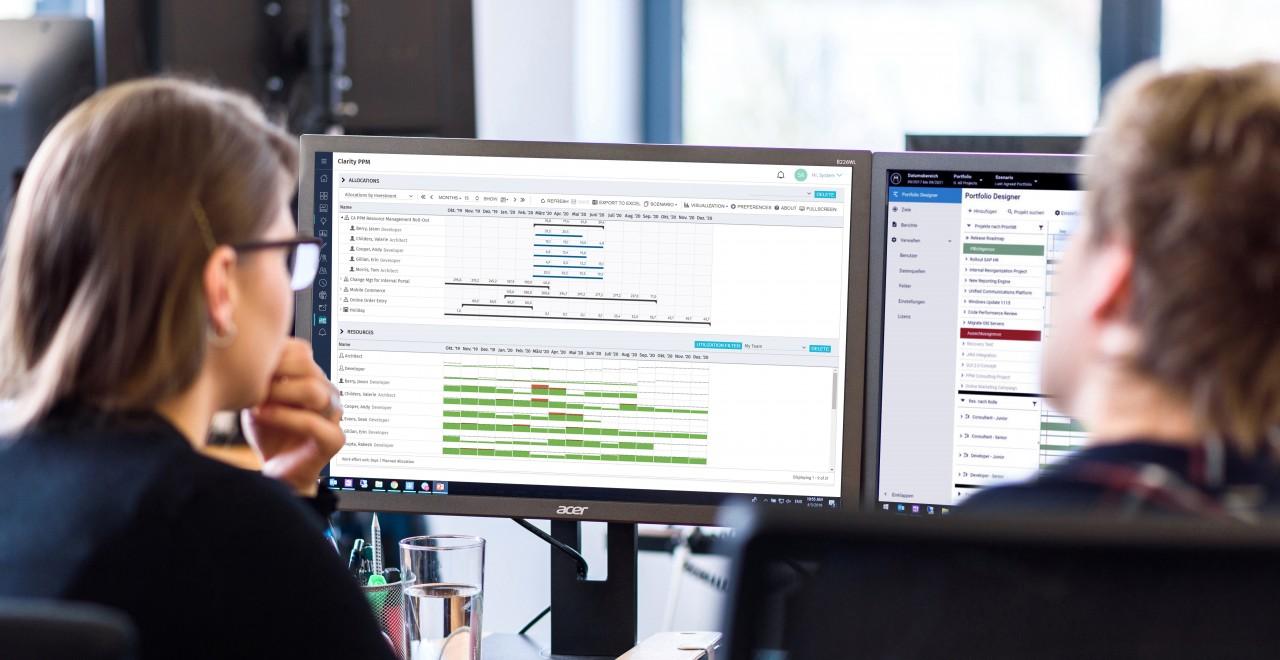Software für Projekt- und Portfoliomanagement