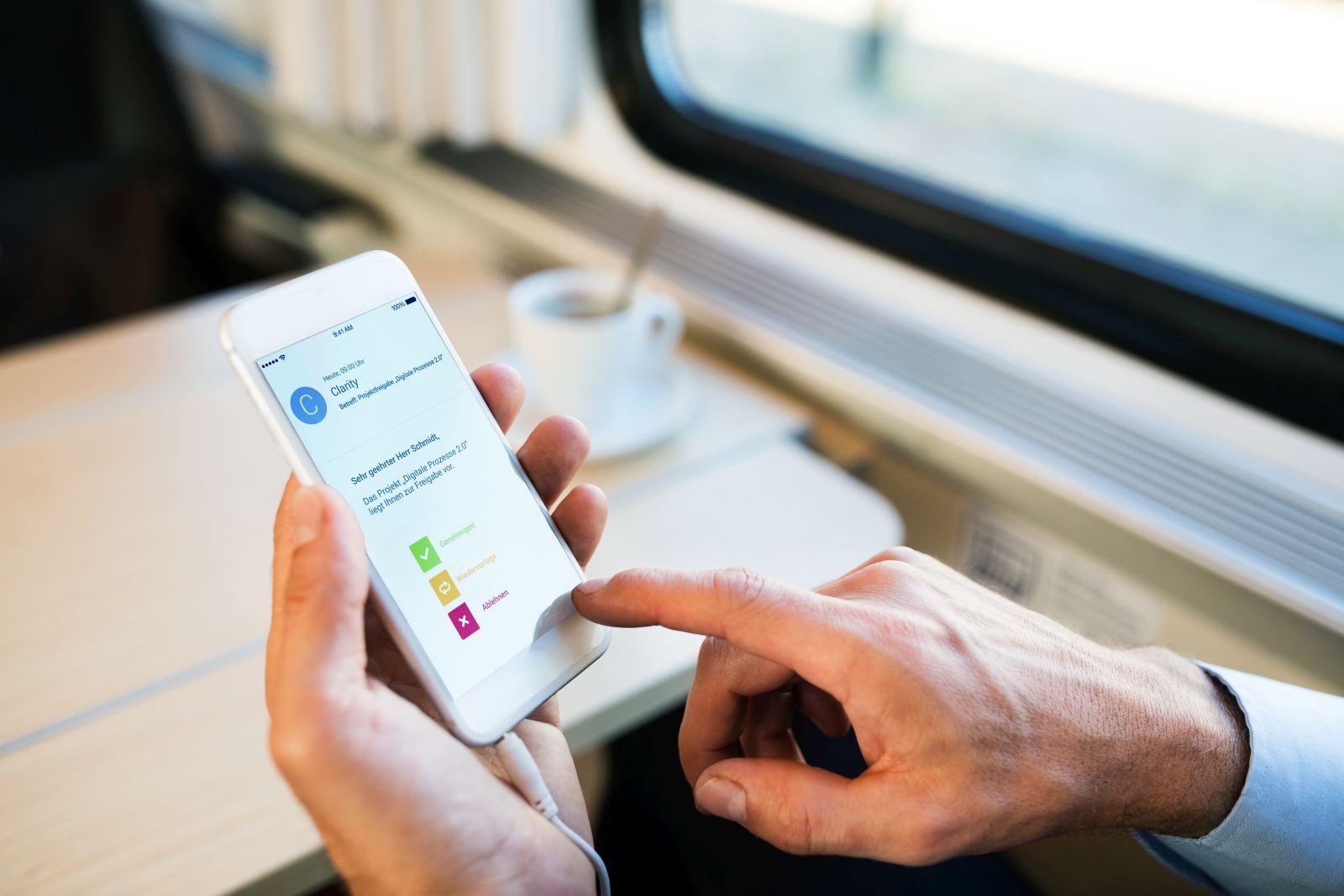 itd Digital Approval für schnelle Freigaben in Clarity